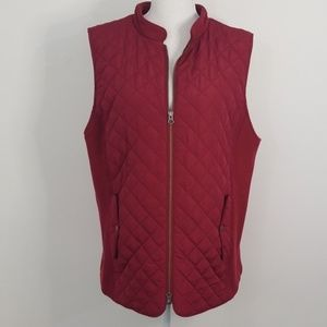 J. Jill quilted vest size Xlarge